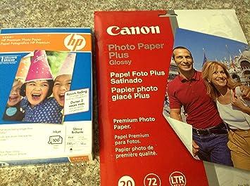 Amazoncom Canon Pp 201 Photo Paper Plus Ii Letter 85 X 11