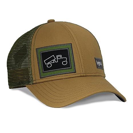 Amazon.com  bigtruck Brand Hat Classic Outdoor Tobacco Olive 26daeb1c1f3
