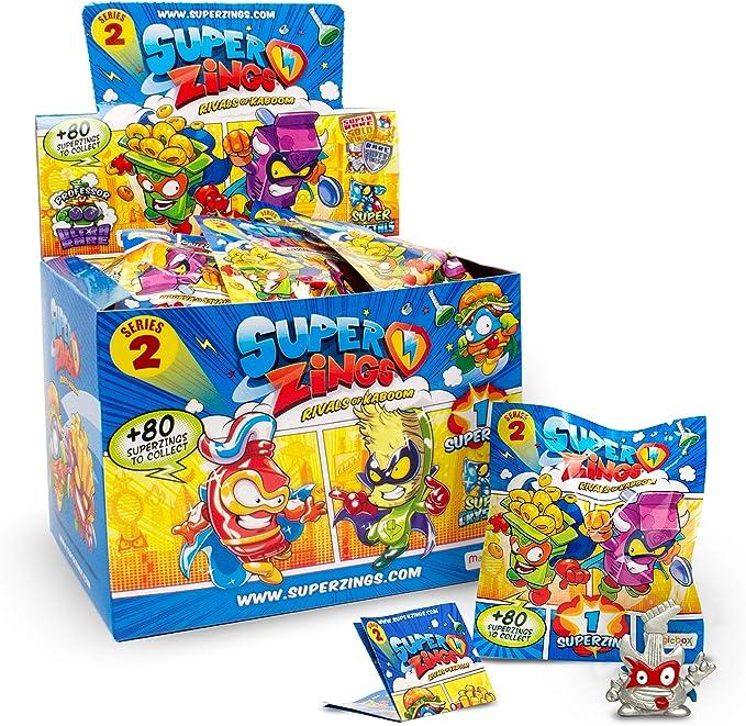 Súperzings- Onepack Serie 2 Caja con 50 Figuras, Multicolor (Magic ...