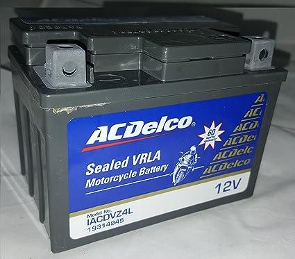 Ac Delco Battery Warranty >> Acdelco 4 Ah Bike Battery 5 Years Warranty Amazon In Car