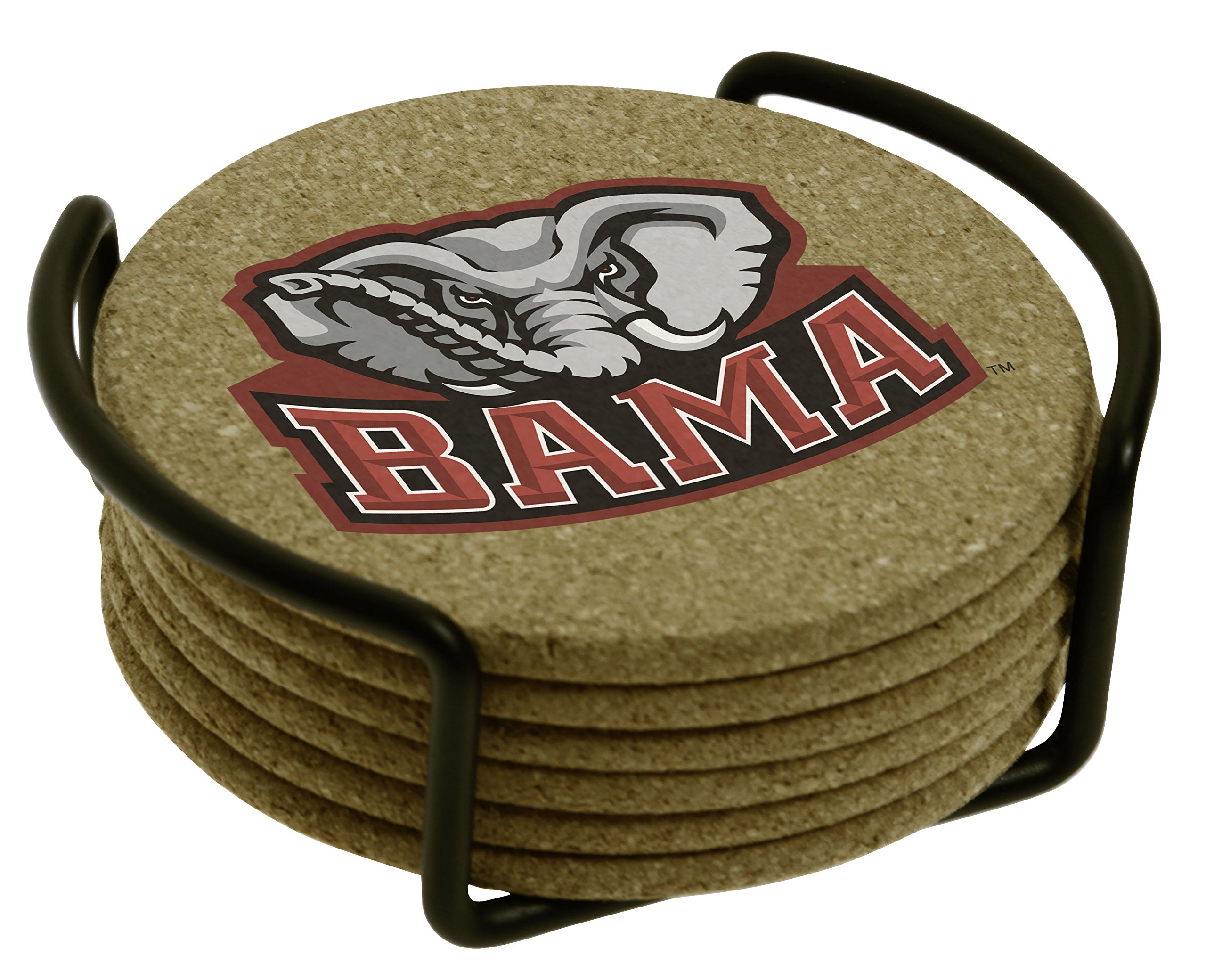 Thirstystone University of Alabama with Holder Included Cork Gift Set