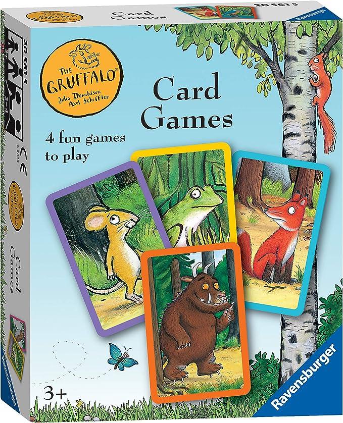 Ravensburger Juego de Cartas | Juegos 4 en 1 | El Grúfalo Niños Juego: Amazon.es: Juguetes y juegos