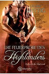 Die Feuerprobe des Highlanders (Herkunft der MacLeod 2) (German Edition) Kindle Edition