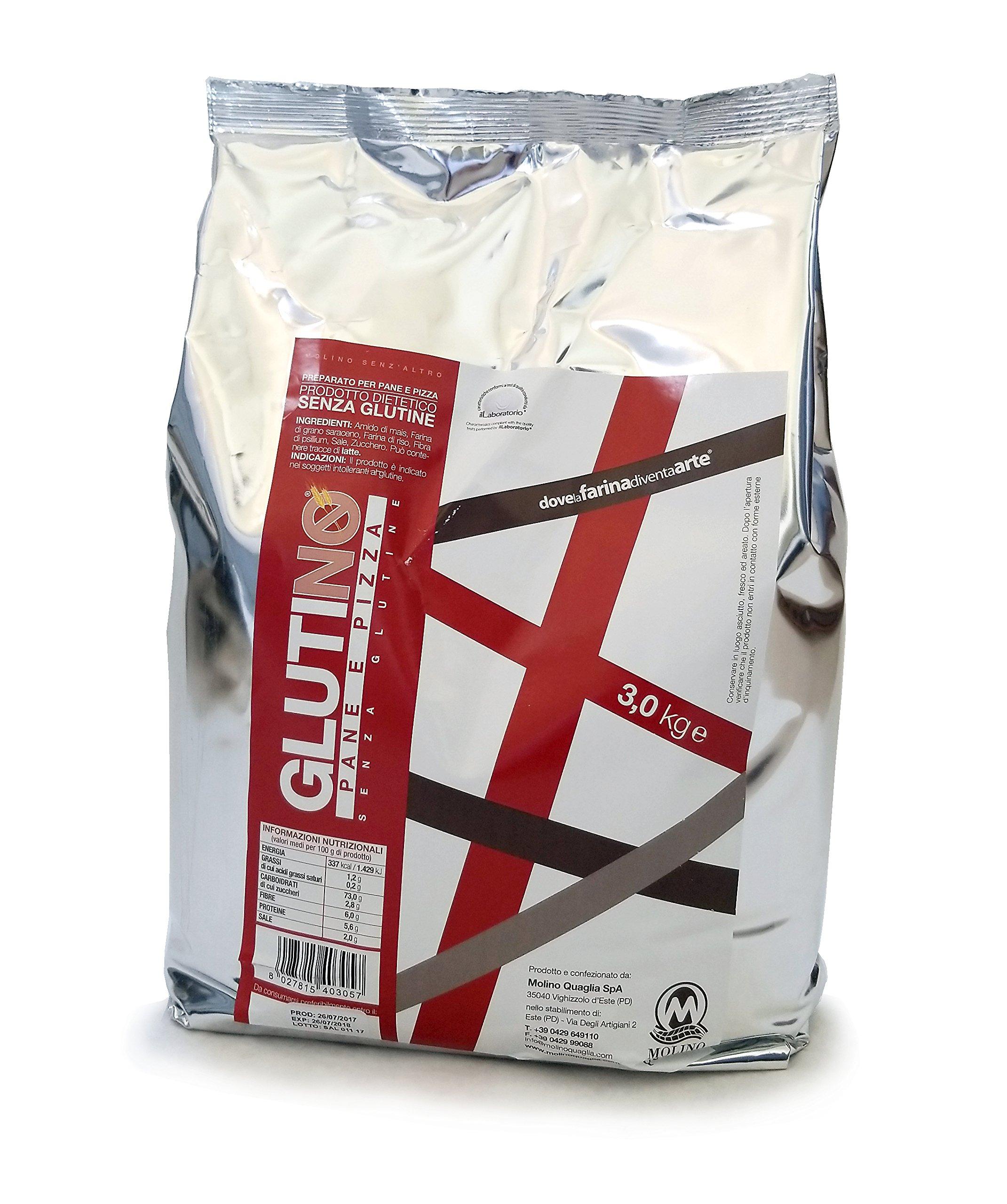 Petra GlutiNo Gluten-free Flour for Bread and Pizza (6.6 lb. Bag)