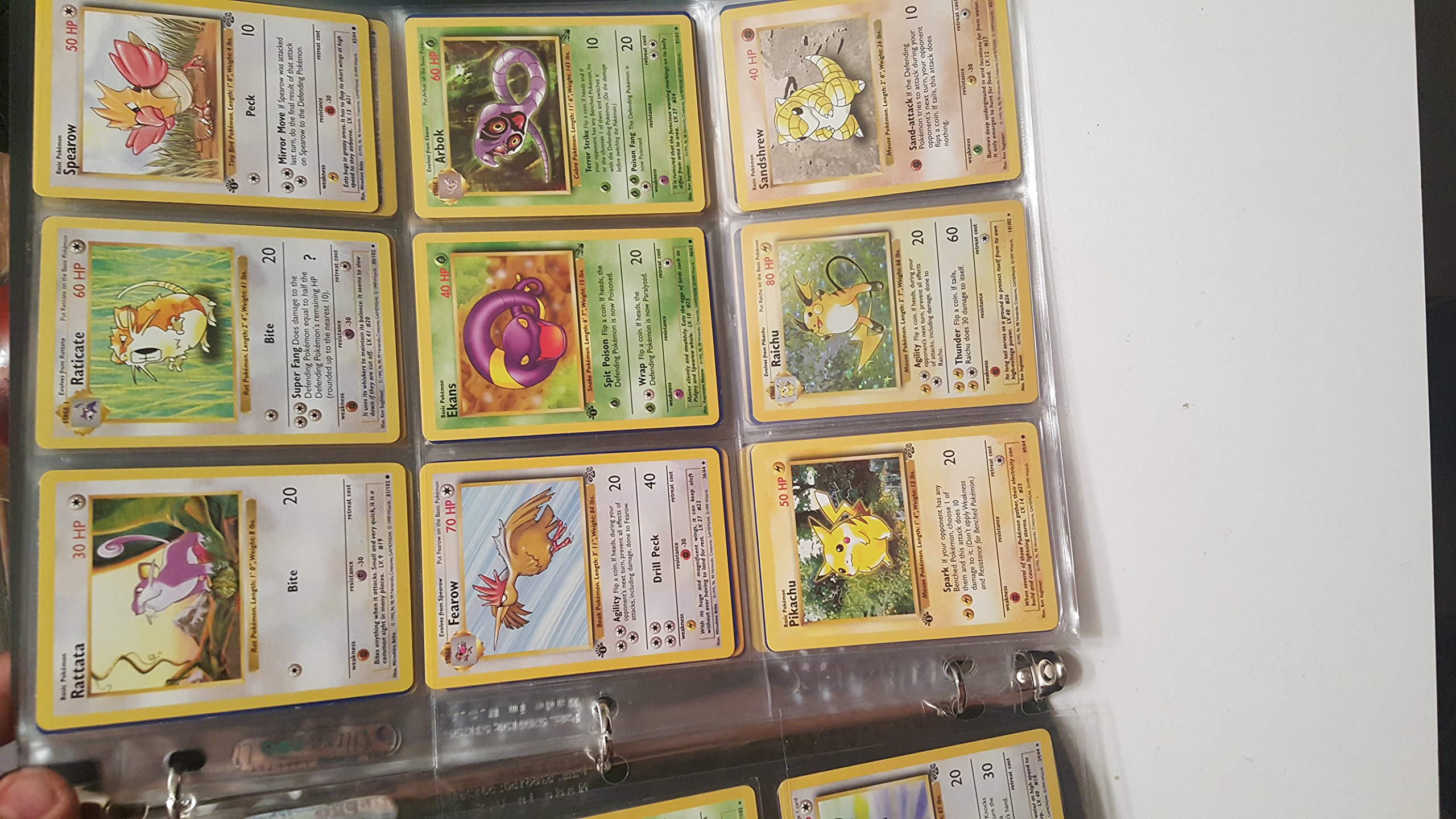 Pokemon COMPLETE Set of ORIGINAL 151/150 Cards (Contains Base, Jungle, Fossil Cards) by Pokemon (Image #3)