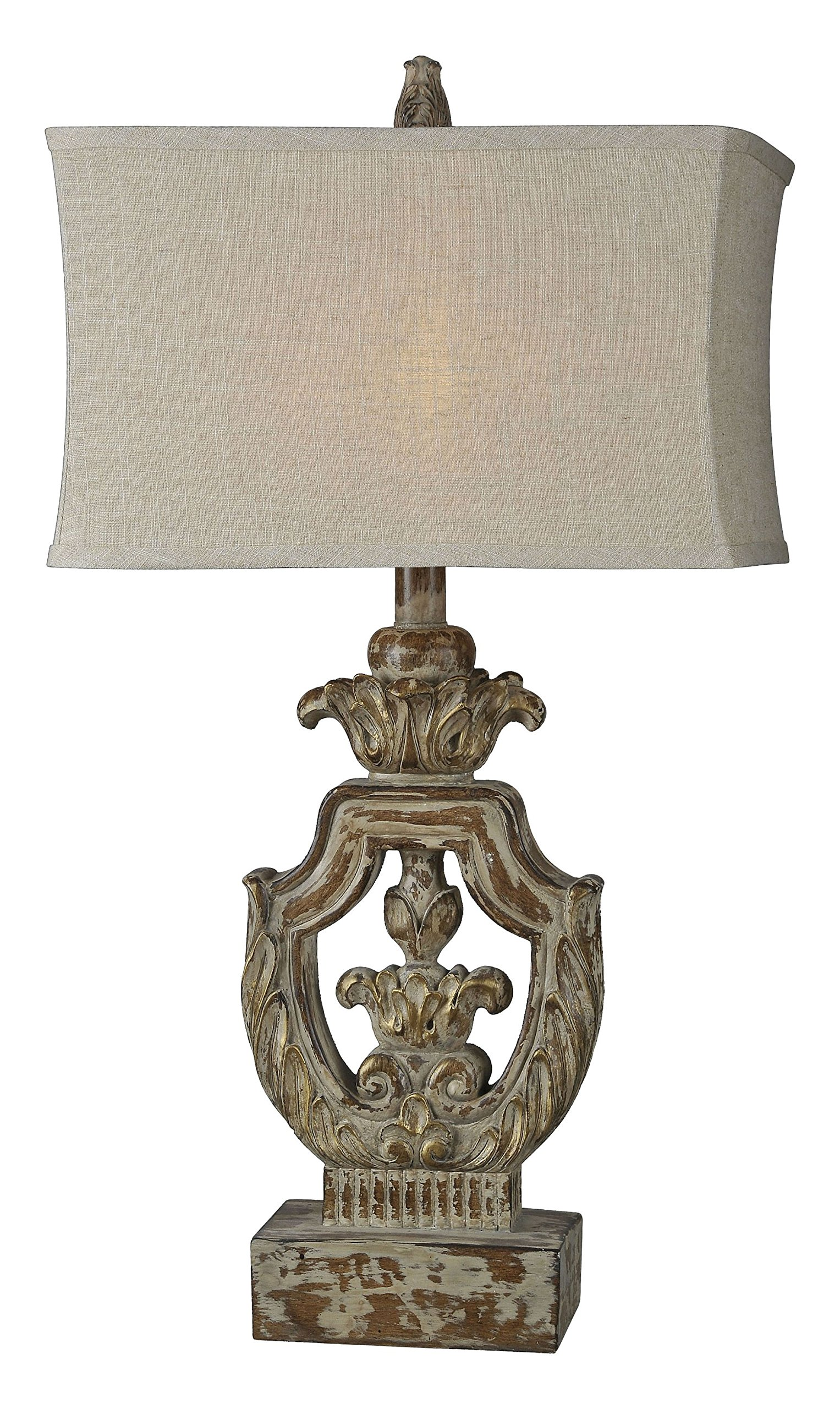 Forty West 71034-1 Isabella Table Lampbeige