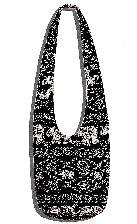 Crossbody Bag Thai Top Zip Hobo Sling Handmade Clutches Evening Bags Shoulder Hipster Messenger Clothing