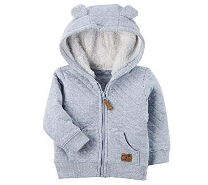 5798438aa Amazon.com  Carter s Baby Boys  3M-24M Hooded Quilted Jacket  Clothing