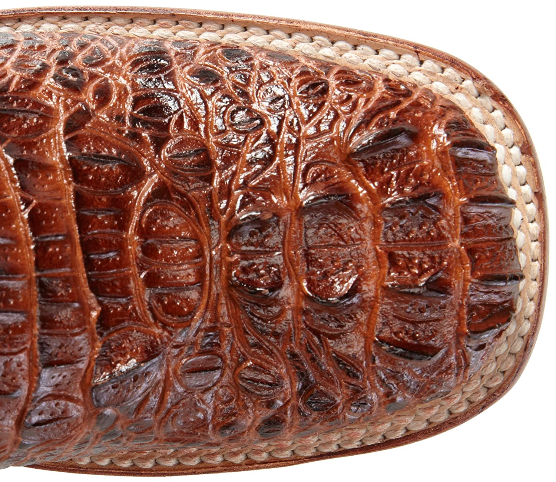 Ferrini Women's Print Crocodile S-Toe Western Boot B00D08KA86 9 B(M) US|Sport Rust