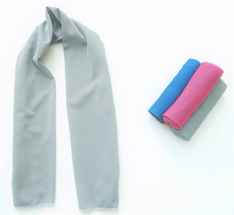 Cala Grey cooling towel