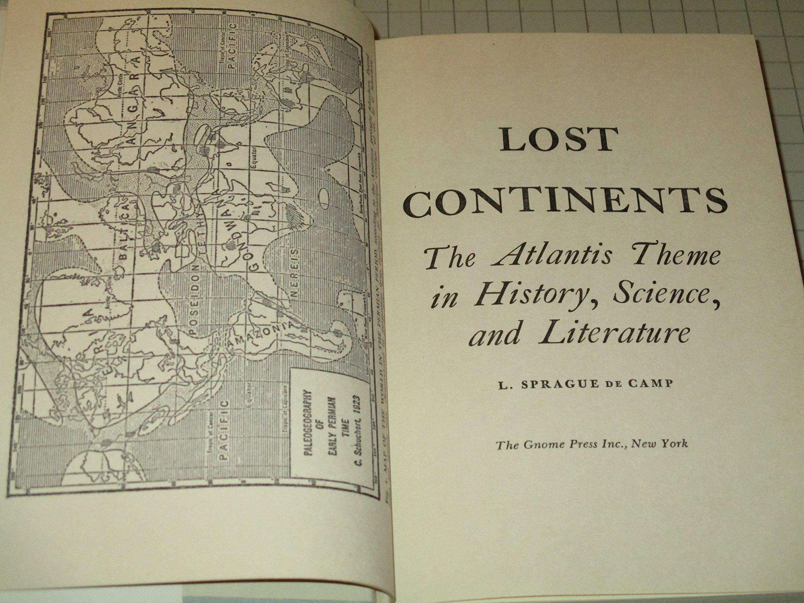 lost continents l sprague de camp