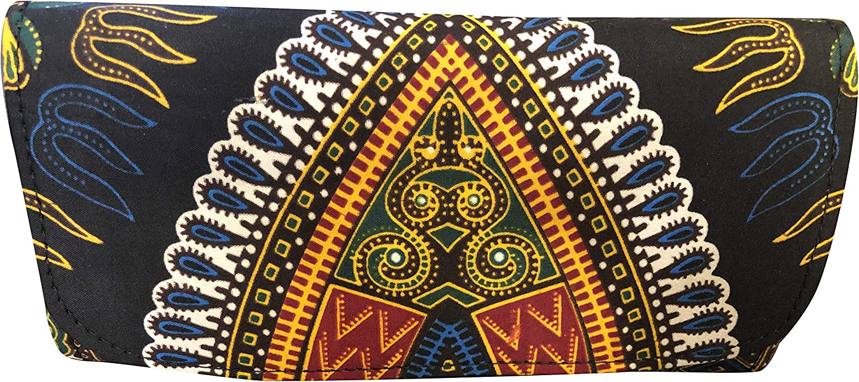 JBG Dashiki Handmade African Print Clutch Purse Envelope Handbag Wristlet - Wallet For Women
