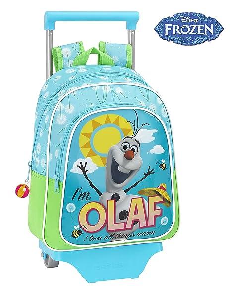 Frozen - Mochila Infantil Carro, diseño Olaf, 27 x 33 cm (SAFTA 611514020