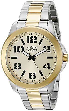 Invicta Men's 21441SYB Specialty Analog Display Quartz Two Tone Watch Men's Watches at amazon