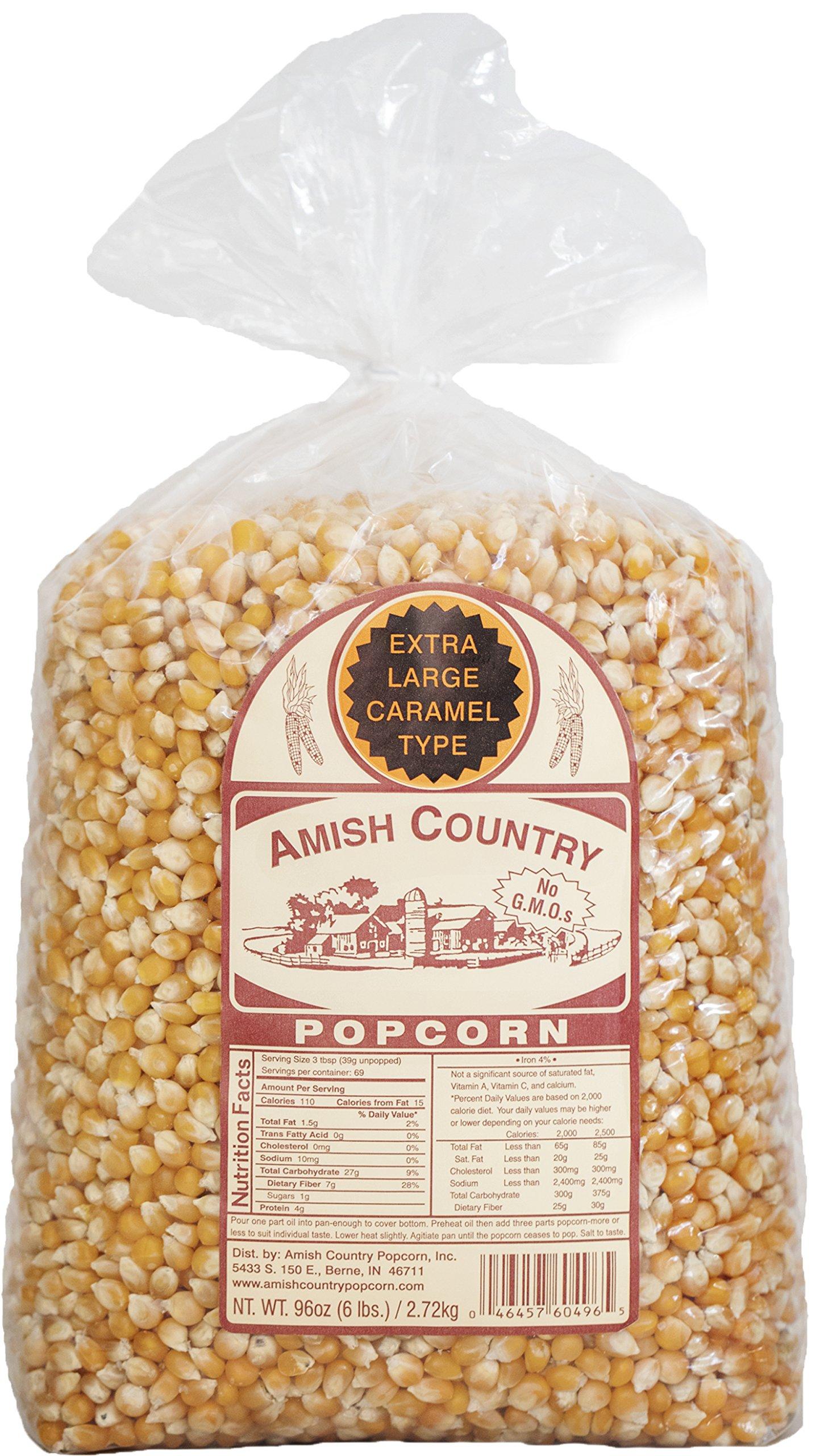 Amazon Com Amish Country Popcorn Mushroom Popcorn 6