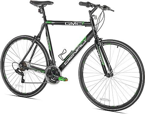 Kent 700c Mens GMC Denali Hombres Carreras Aluminio Negro, Verde ...