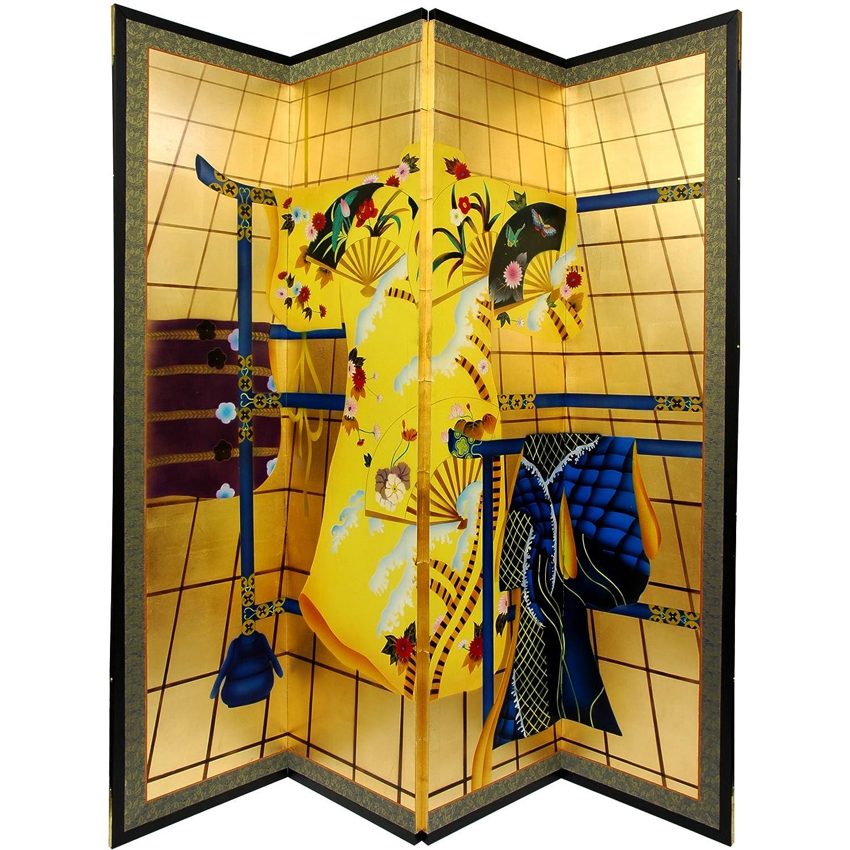 Amazon.com: Oriental Furniture Gold Leaf Kimono: Kitchen & Dining