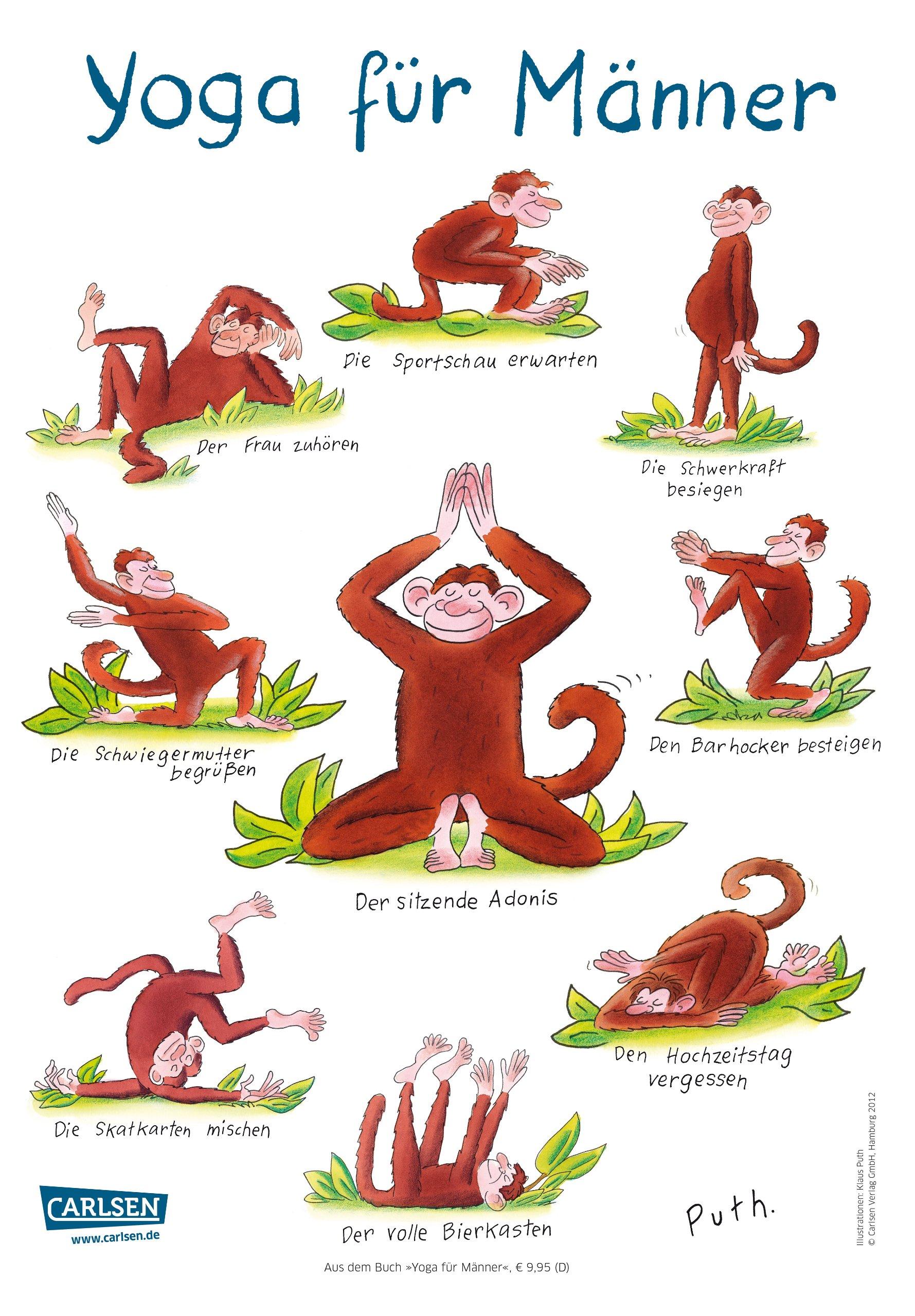 Yoga für Männer: Amazon.de: Klaus Puth: Bücher