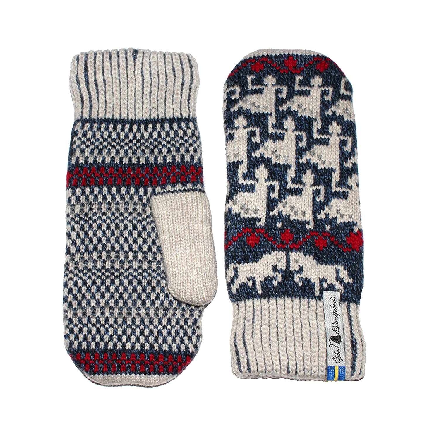 fc2615745a1 Öjbro Swedish made 100% Merino Wool Soft Thick   Extremely Warm Mittens
