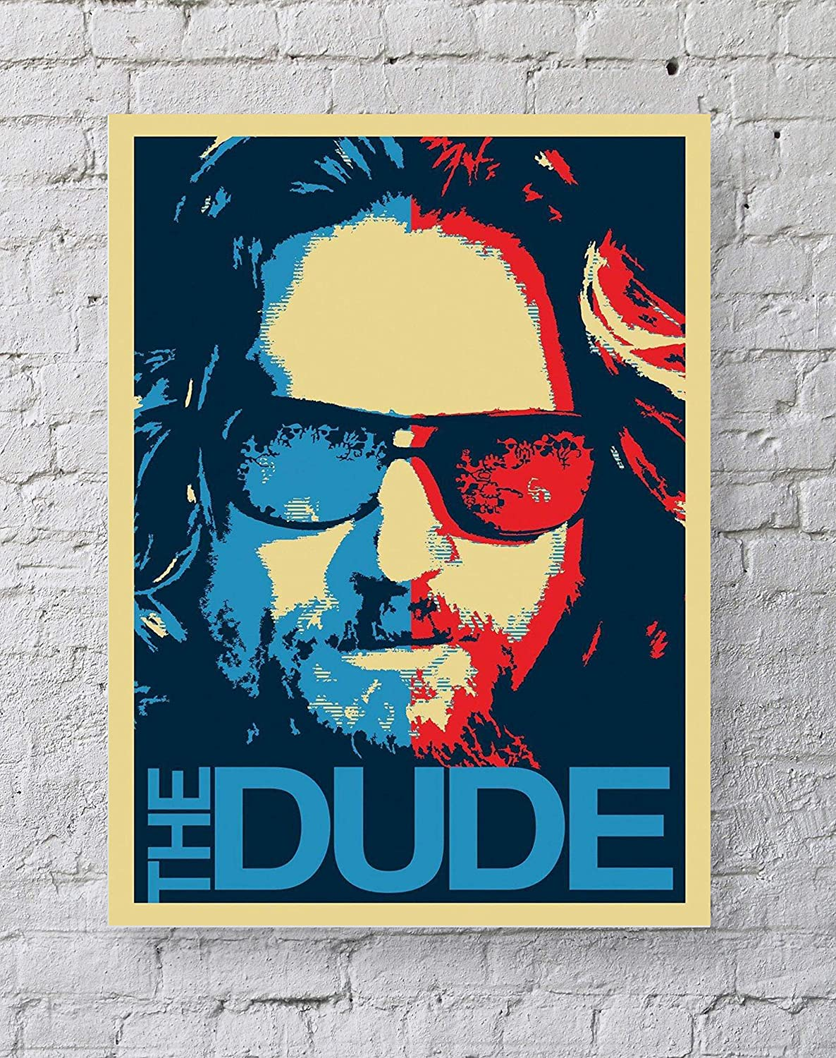 MeiMeiZ The Dude Poster Standard Size | 18-Inches by 24-Inches | Big Lebowski Dude Posters Wall Poster Print