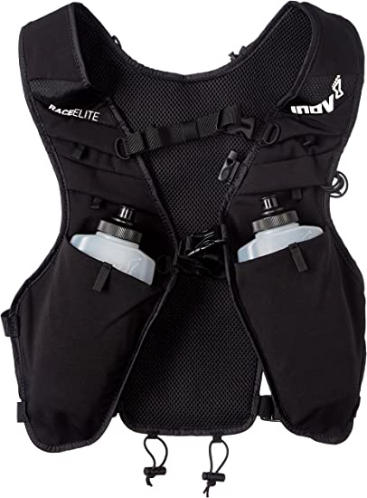 Inov 8 Hommes Course Elite 3 L taille Pack-Noir Sport Running Respirant