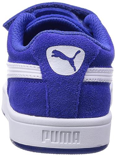 359452 - Chaussures Puma Bébé Bleu Bébé (surfer Sur Le Web / Blanc) Couleur, Taille 24