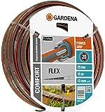 """Gardena Comfort Flex - Manguera (9 x 9, 13 mm, 1/2"""", 15 m, sin accesorios)"""