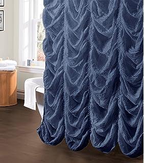 Lush Decor C12901P13 000 Madelynn Shower Curtain