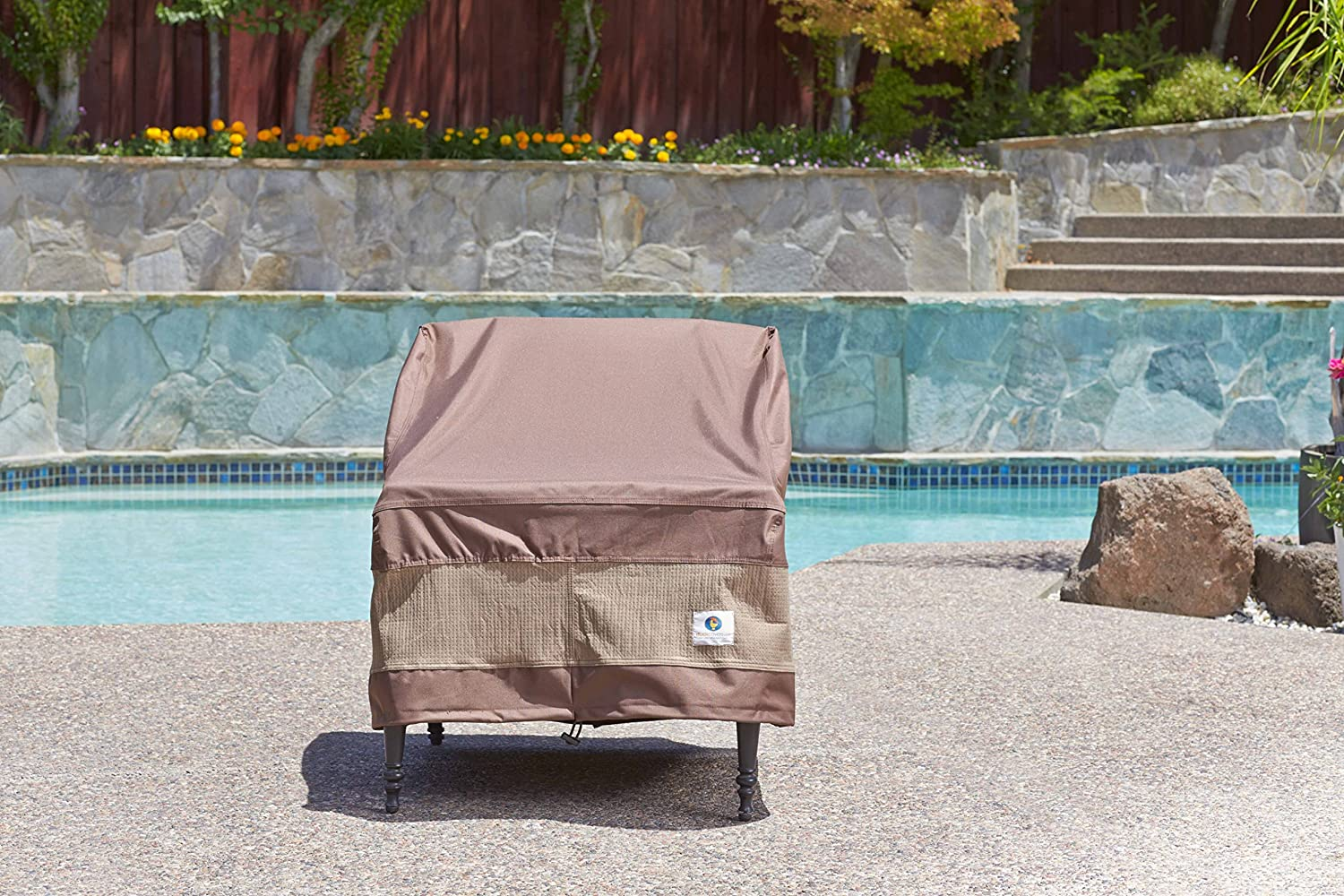 Amazon.com : Duck Covers Ultimate Patio Chair Cover, 40 Inch : Patio, Lawn  U0026 Garden