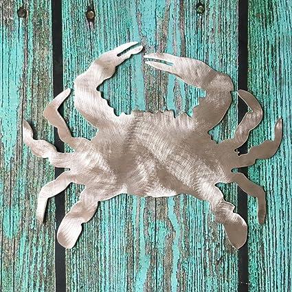 Amazon Com Pt Hudson Alumi Art Crab Christmas Tree Topper Beach