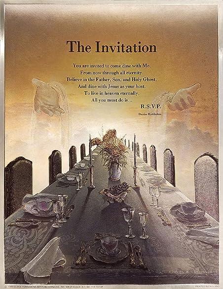 Amazoncom The Invitation Poem By Danise Hahlbohm Religious