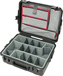 SKB Cases 3i-2217-8DL iSeries Professional Camera Case, Black/Gray