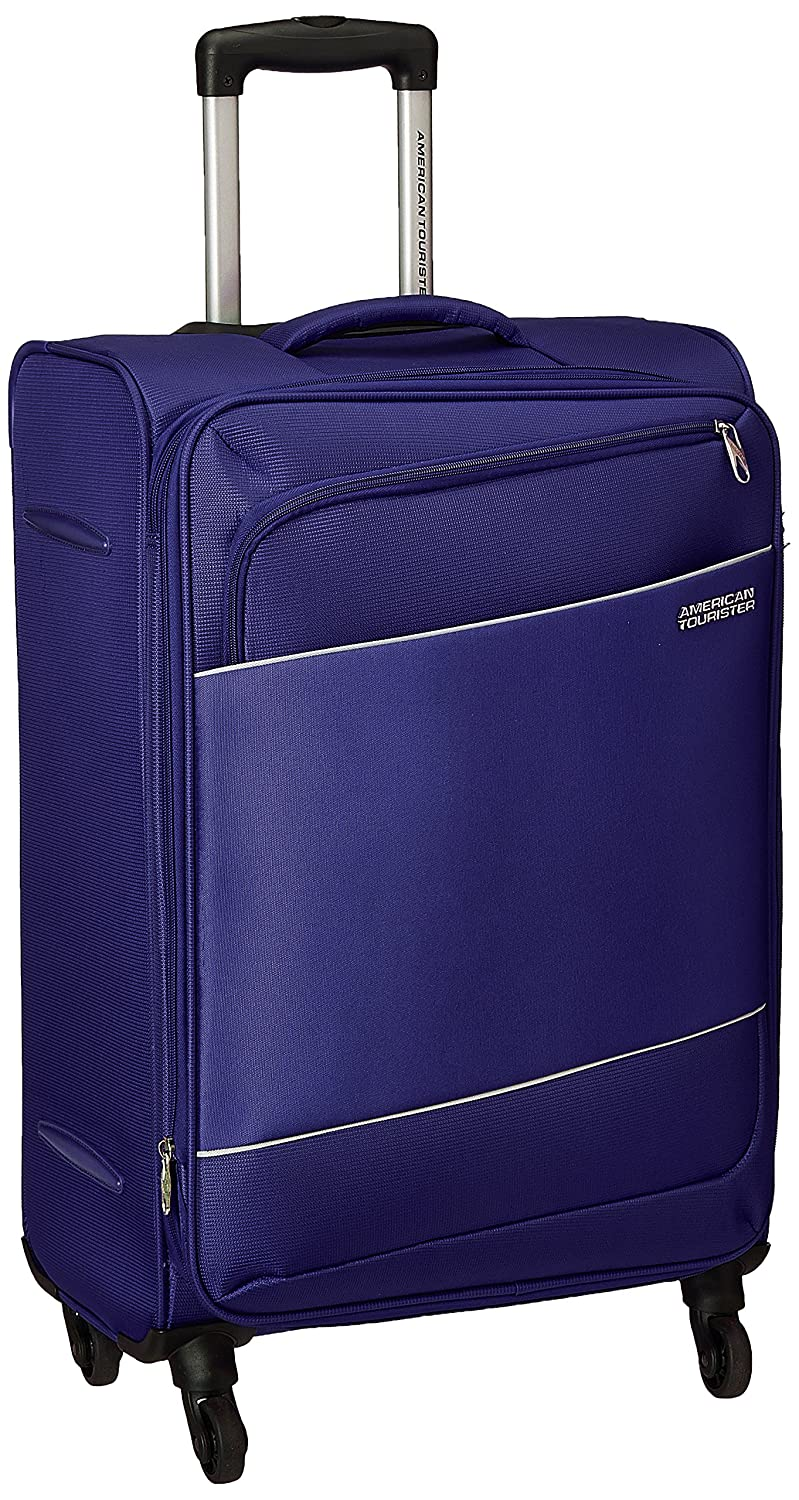 American Tourister Timor Polyester 67 cms Blue Softsided Check-in Luggage