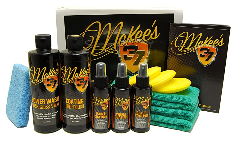 2. McKee's 37 MK37-7000 Paint, Wheel and Glass Coating Complete Kit