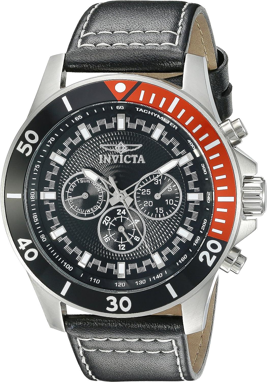 Invicta Men s 21478 Pro Diver Analog Display Swiss Quartz Black Watch