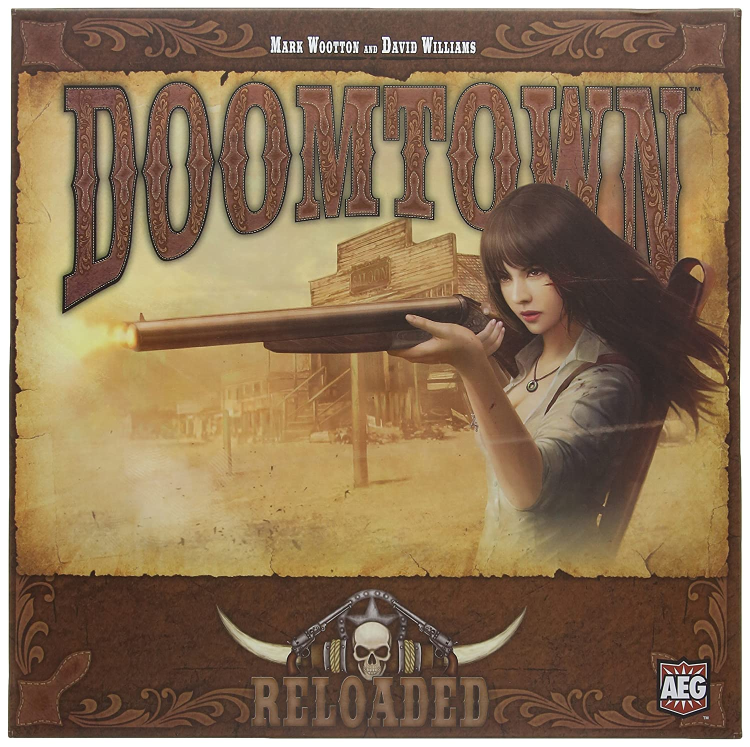Doomtown Reloaded Boxed Card Game