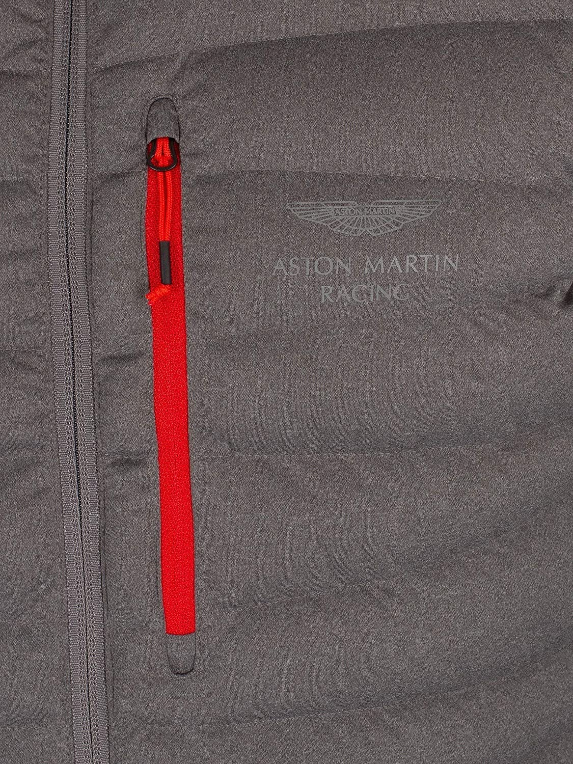 Hackett London Hombre Chaqueta Híbrida Aston Martin Racing, Gris, Small: Amazon.es: Ropa y accesorios