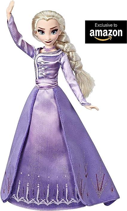Hasbro, Disney Frozen 2, E6844ES0, Arendelle Elsa, Bambola con