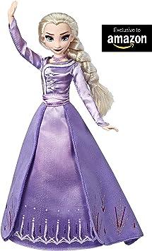 Frozen 2 Elsa De Arendelle (Hasbro E6844ES0): Amazon.es: Juguetes ...