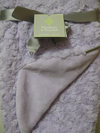 Amazon Com Blankets Beyond Light Purple Swirl Blanket Nursery