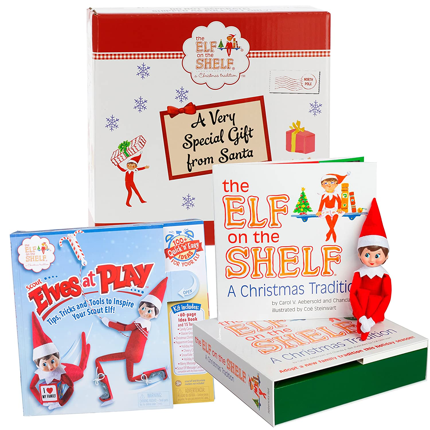Amazon Elf The Shelf Gift Set Elves At Play 15 Piece Tool