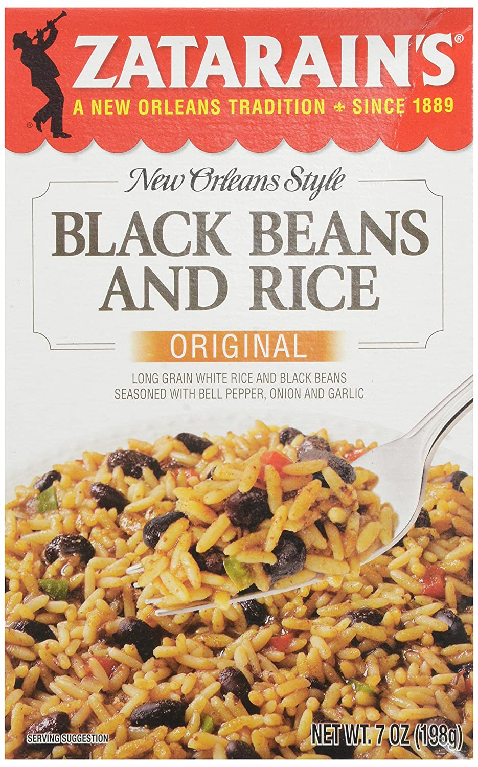 Zatarain's New Orleans Style Black Beans and Rice , 7 oz.
