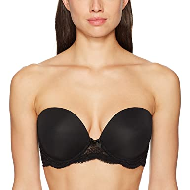 f9739da20e31e Simone Perele Eden Strapless Plunge Smooth Cup Bra at Amazon Women's ...