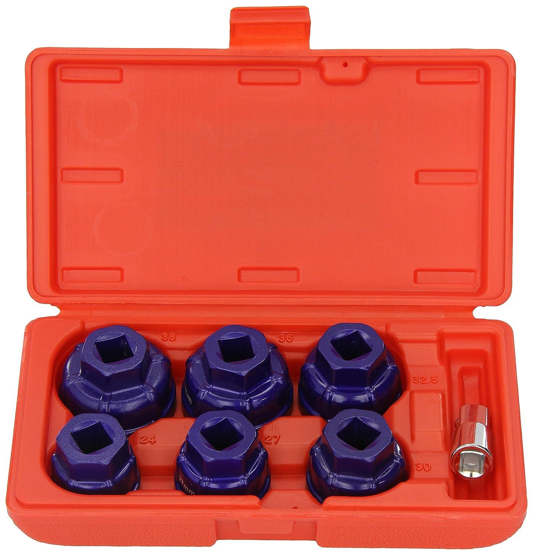 Sealey VS7008 Oil Filter Cap Wrench Set 7pc