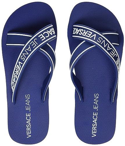 ef9fe3c15c64 VERSACE JEANS COUTURE Men s s Shoes Flip Flops  Amazon.co.uk  Shoes ...
