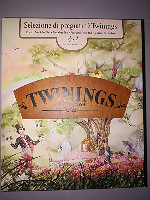 Twinings Box 40 Tea Selection – Caja Madera 40 té: Amazon.es: Hogar