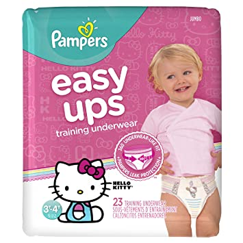 5fdab2e5e3e Image Unavailable. Image not available for. Color  Pampers Easy Ups  Training Underwear Girls ...