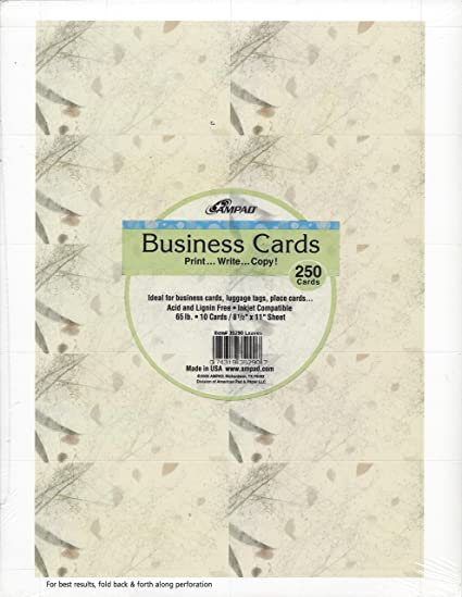 Amazon geographics leaves business cards 2 x 35 inches 250 geographics leaves business cards 2 x 35 inches 250 pack 35290 colourmoves
