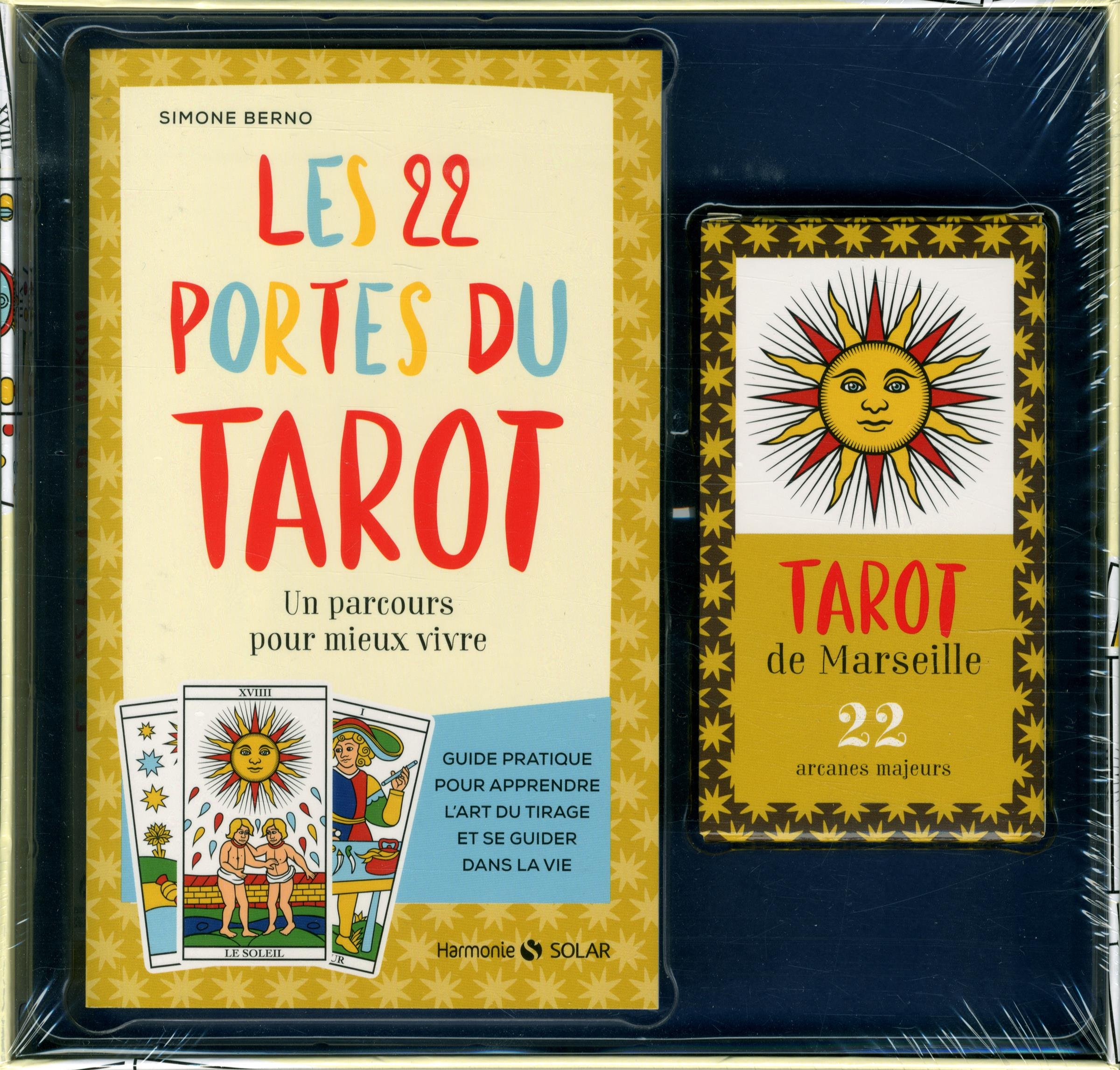Amazon.fr - Les 22 portes du tarot - coffret - Simone BERNO - Livres 721c4156aedf