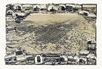 Amazon.com: Old Map of Stockton California 1895 San Joaquin County ...